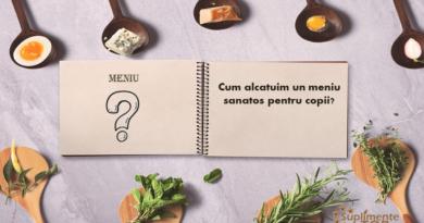 Cum alcatuim un meniu sanatos pentru copii?